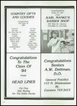1984 Corunna High School Yearbook Page 160 & 161