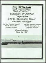 1984 Corunna High School Yearbook Page 164 & 165