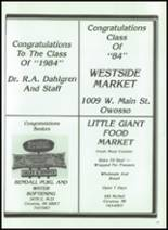 1984 Corunna High School Yearbook Page 170 & 171