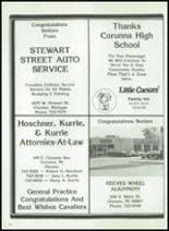 1984 Corunna High School Yearbook Page 178 & 179