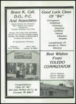 1984 Corunna High School Yearbook Page 184 & 185