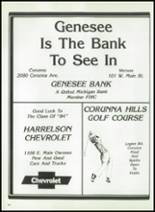 1984 Corunna High School Yearbook Page 186 & 187