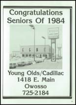 1984 Corunna High School Yearbook Page 188 & 189