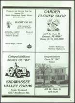 1984 Corunna High School Yearbook Page 194 & 195