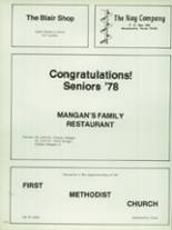 1978 Waxahachie High School Yearbook Page 210 & 211