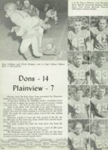 1960 Palo Duro High School Yearbook Page 206 & 207