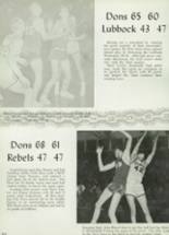1960 Palo Duro High School Yearbook Page 216 & 217