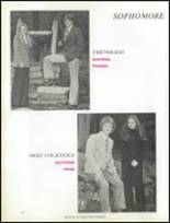 1974 Ringgold High School Yearbook Page 110 & 111