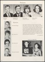 1970 Clyde High School Yearbook Page 18 & 19