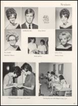 1970 Clyde High School Yearbook Page 20 & 21