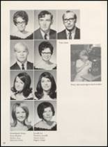 1970 Clyde High School Yearbook Page 24 & 25