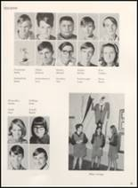 1970 Clyde High School Yearbook Page 34 & 35