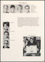 1970 Clyde High School Yearbook Page 36 & 37