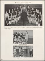 1970 Clyde High School Yearbook Page 66 & 67