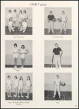 1970 Clyde High School Yearbook Page 72 & 73