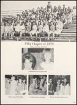 1970 Clyde High School Yearbook Page 84 & 85