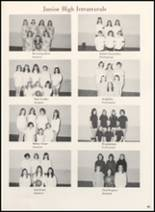 1970 Clyde High School Yearbook Page 92 & 93