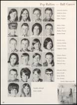 1970 Clyde High School Yearbook Page 98 & 99