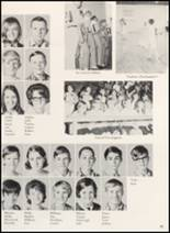 1970 Clyde High School Yearbook Page 100 & 101