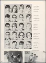 1970 Clyde High School Yearbook Page 106 & 107