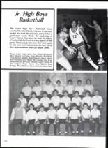 1983 Trinity Heights Christian Academy Yearbook Page 132 & 133