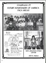 1983 Trinity Heights Christian Academy Yearbook Page 216 & 217