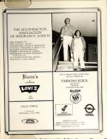 1978 Southington High School Yearbook Page 196 & 197