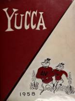 1958 Yearbook Antelope Valley High School