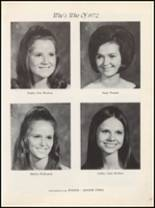 1972 Marshall High School Yearbook Page 24 & 25