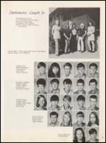 1972 Marshall High School Yearbook Page 30 & 31