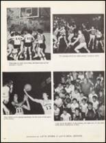 1972 Marshall High School Yearbook Page 110 & 111