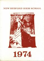 1974 Yearbook New Bedford High School