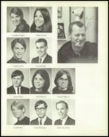 1969 Carmel High School Yearbook Page 20 & 21