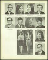 1969 Carmel High School Yearbook Page 22 & 23