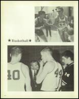 1969 Carmel High School Yearbook Page 158 & 159