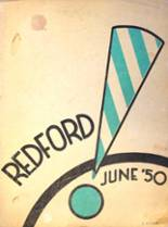 1950 Yearbook Redford High School
