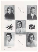 1989 Caney High School Yearbook Page 20 & 21