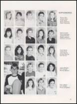 1989 Caney High School Yearbook Page 22 & 23