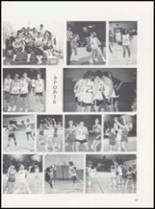 1989 Caney High School Yearbook Page 46 & 47