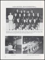 1989 Caney High School Yearbook Page 50 & 51