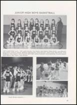 1989 Caney High School Yearbook Page 52 & 53