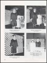 1989 Caney High School Yearbook Page 70 & 71