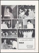 1989 Caney High School Yearbook Page 74 & 75