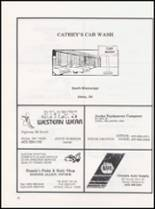 1989 Caney High School Yearbook Page 80 & 81