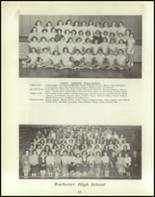 1950 Rochester High School Yearbook Page 42 & 43