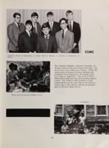 1968 Moeller High School Yearbook Page 108 & 109