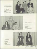 1952 Depew High School Yearbook Page 14 & 15