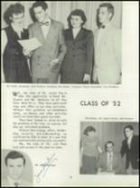 1952 Depew High School Yearbook Page 20 & 21