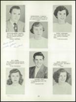 1952 Depew High School Yearbook Page 24 & 25