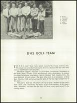 1952 Depew High School Yearbook Page 86 & 87